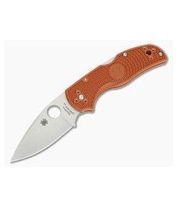 Spyderco Native 5 Lightweight Sprint Burnt Orange FRN CPM REX 45 C41PBORE5