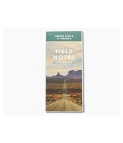 Field Notes National Highway Map Limited Edition Folding Map