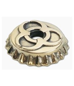 Lion Armory Beer Cap Toxic Bead Brass