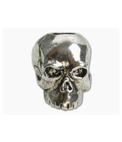 Schmuckatelli Classic Skull Bead Antique Rhodium Plated