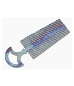 John Gray Titanium Double Tooth Comb Anodized - Large
