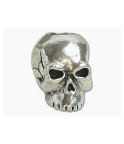 Schmuckatelli Classic Skull Bead Pewter