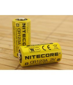 Nitecore CR123A Lithium Battery 2-Pack