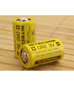 Nitecore CR2 Lithium Battery 2-Pack