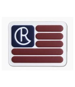 Chris Reeve CR Flag Logo PVC Velcro Patch