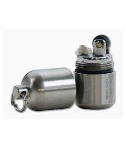 Maratac Split Pea Ultralight Key Chain Lighter Stainless Steel