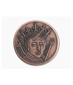 Shire Post Mint Be Good / Stay Evil Decision Maker Coin Copper