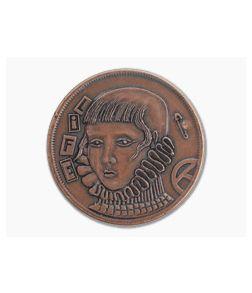 Shire Post Mint Life/Death Decision Maker Coin Copper