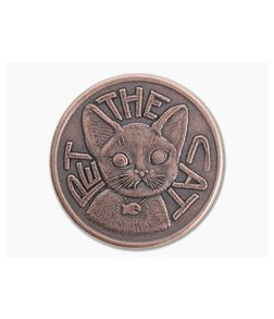Shire Post Mint Pet the Cat / Flip Again Decision Maker Coin Copper