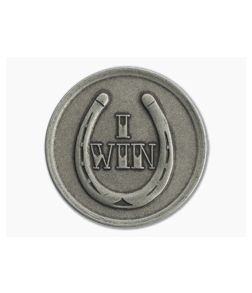 Shire Post Mint I Win / You Lose Decision Maker Coin Nickel Silver