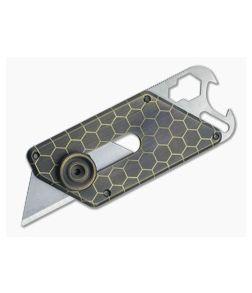 D Rocket Design X LMS Titanium Razor Knife Multitool 0028