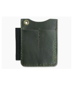 Hitch & Timber Duz All EDC Utility Wallet Antique Green Leather