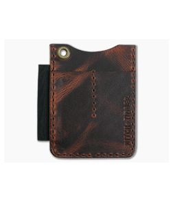 Hitch & Timber Duz All EDC Utility Wallet Autumn Harvest Leather