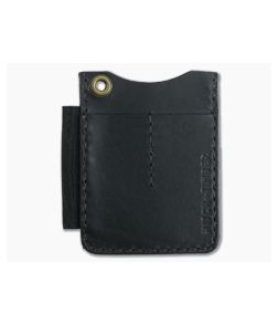 Hitch & Timber Duz All EDC Utility Wallet Black Leather