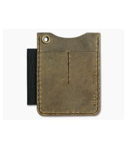 Hitch & Timber Duz All EDC Utility Wallet Crazy Horse Leather