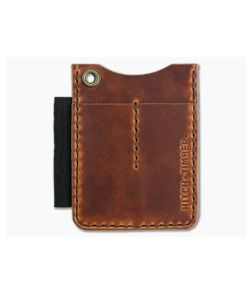 Hitch & Timber Duz All EDC Utility Wallet English Tan Leather