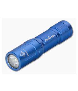 Fenix E01 V2.0 Blue 100 Lumen Mini LED AAA Flashlight E01V2BL