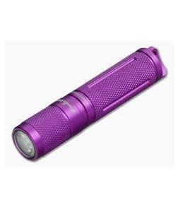 Fenix E05 Purple 85 Lumen LED Flashlight with Battery