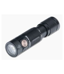 Fenix E05R Black 400 Lumen Rechargeable LED Mini Flashlight E05RG2BK