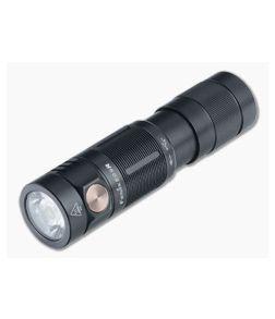 Fenix E09R Black 600 Lumen Rechargeable LED EDC Flashlight E09RSBK