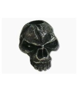 Schmuckatelli Emerson Skull Bead Black Oxidized Pewter
