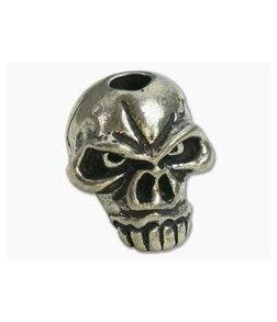 Schmuckatelli Jumbo Emerson Skull Bead Pewter