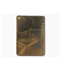 Hitch & Timber Engineer Caddy Crazy Horse Leather EDC Utility Wallet