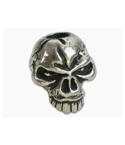 Schmuckatelli Emerson Skull Bead Pewter