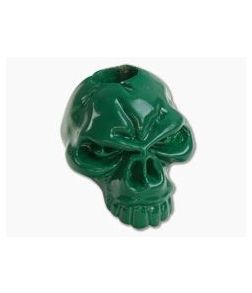 Schmuckatelli Emerson Skull Bead Powder Coat Green