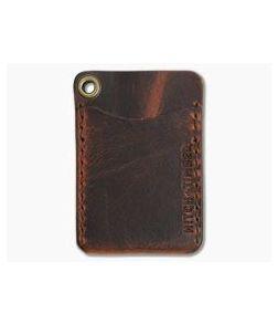 Hitch & Timber Flat Jacket Autumn Harvest Leather Minimalist Wallet