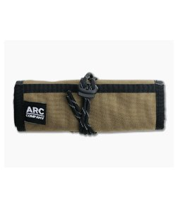 Arc Company The Frontier EDC Roll Up Bag Brown