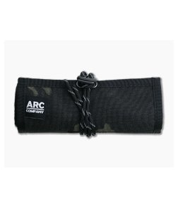 Arc Company The Frontier EDC Roll Up Bag Black Multicam