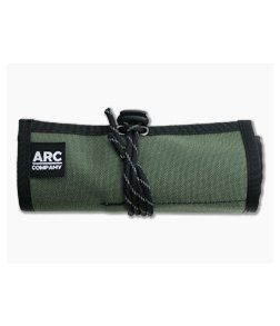 Arc Company The Frontier EDC Roll Up Bag Green