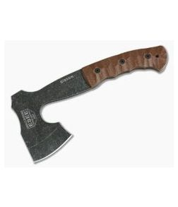 ESEE Gibson Axe Tumbled Black Oxide 1095