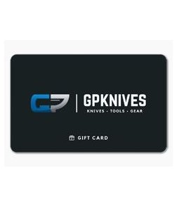 GPKNIVES Virtual Gift Card $100 (Email Delivery)