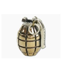 Lion Armory Hand Grenade Bead Brass Limited Edition