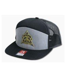 TOPS Knives Flat Bill Mesh Back Snapback Hat HAT-01
