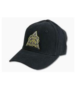 TOPS Knives Black Cotton Adjustable Strap Hat HAT-02