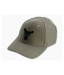 Blade-Tech Hat Dark Earth with Black Logo Velcro Back Hat