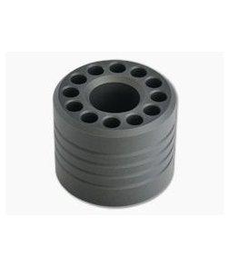 Scout Leather Co. Hex Bit Driver Base Gray Aluminum