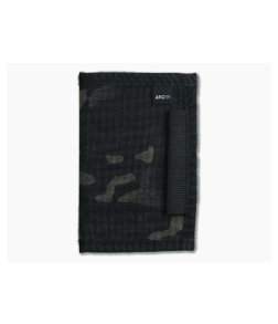 Arc Company The Heist EDC Notebook Wallet Black Multicam