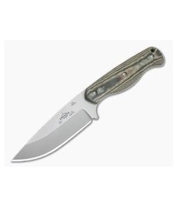 Emerson Knives HUCK Camp Knife Stonewashed 154CM Richlite Fixed Blade
