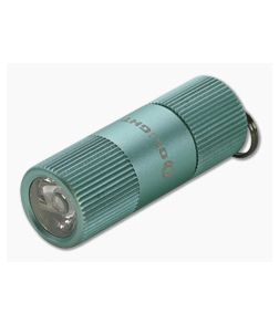 Olight i1R 2 EOS Mint Green Limited Edition Micro-USB Rechargeable 150 Lumen Key Chain Flashlight