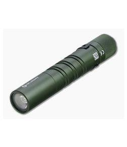 Olight i3T EOS OD Green Limited AAA 180 Lumen Slim EDC Tail Switch Flashlight