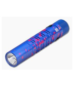 Olight i5UV EOS Blue and Magenta 365nm Ultraviolet AA Slim Tail Switch Flashlight