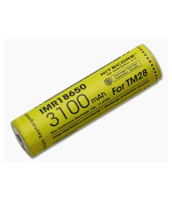 Nitecore Rechargeable IMR 18650 Battery 3100mAh IMR18650