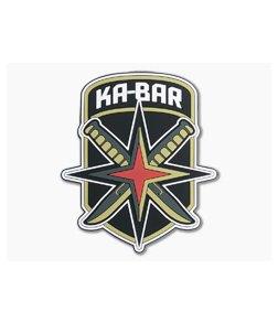 Kabar Knives Squadron PVC Velcro Patch KBPATCH2