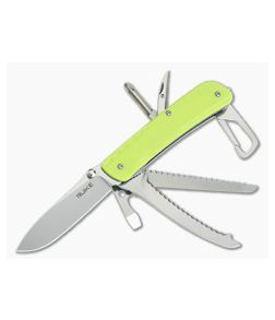 RUIKE LD43 Trekker LD Series 12c27 Liner Lock Rescue Knife Hi-Viz G10