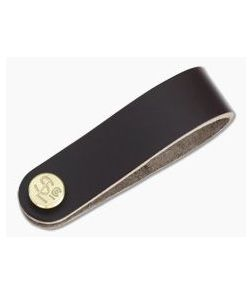 Scout Leather Co. Leather Keychain Silencer Brown