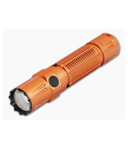 Olight M2R Pro Warrior Orange Limited Edition Tactical Rechargeable 1800 Lumen Neutral White LED Flashlight